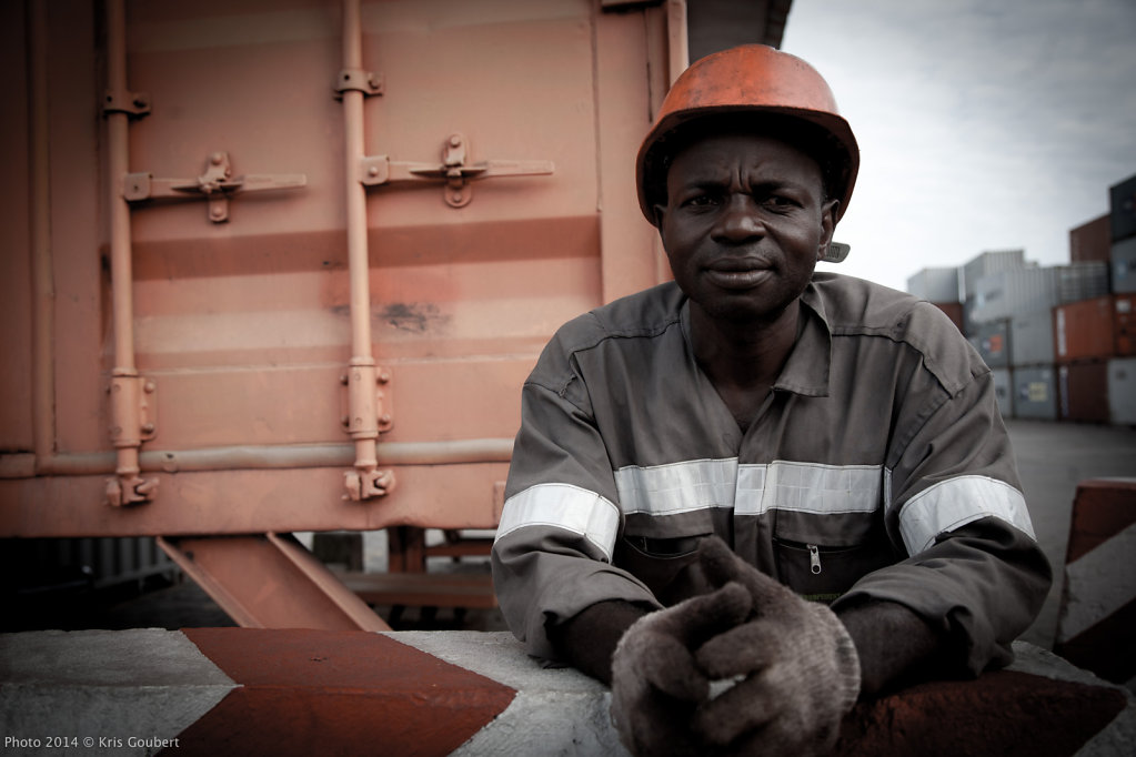 Cameroon - The Port of Douala
