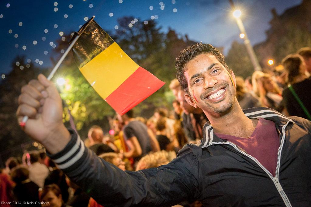 WK 2014 Belgium - USA
